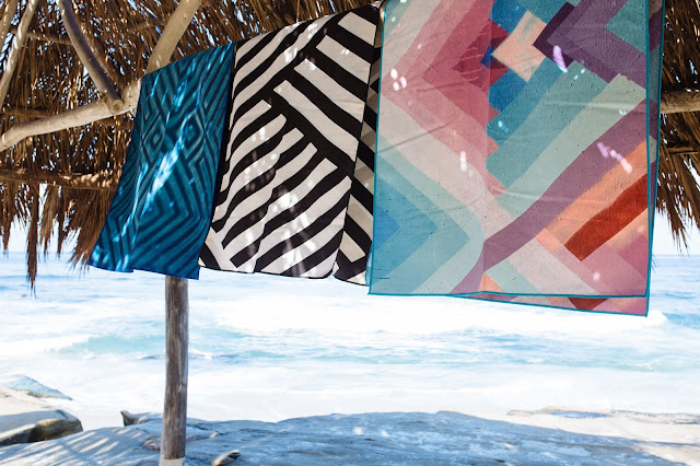 travel towels made from recycled plastic bottles