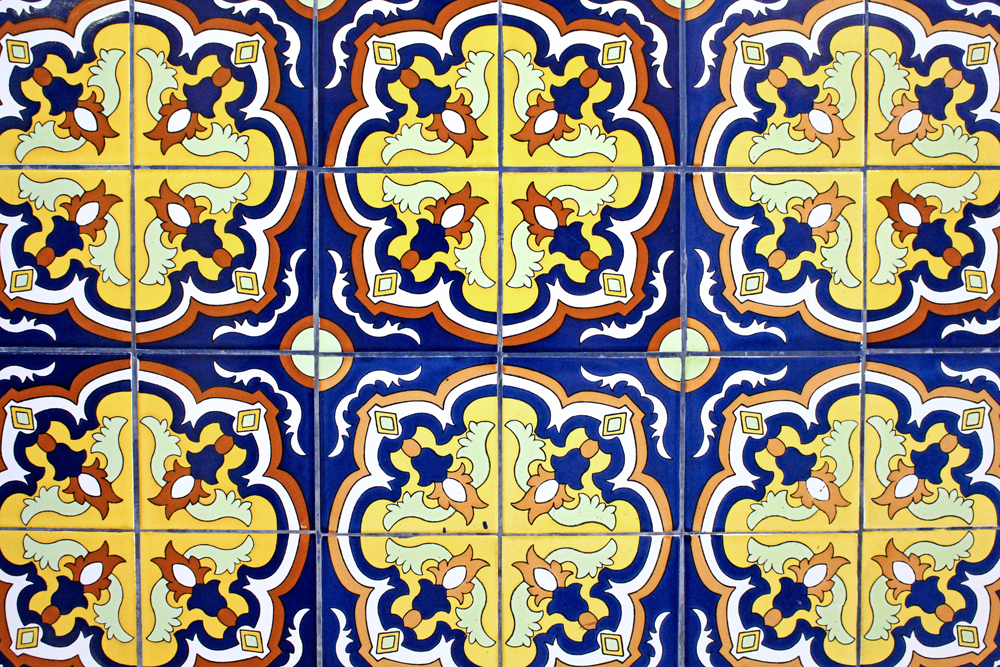 Patterned tiles in Lima, Peru - travel & lifestyle blog