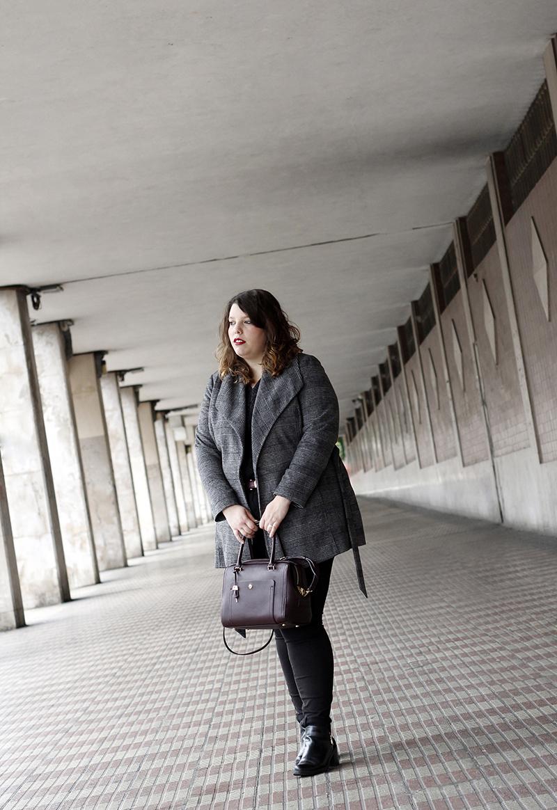 Collage of Style - Almudena Duran Arnaiz - Basicos en negro y granate VI