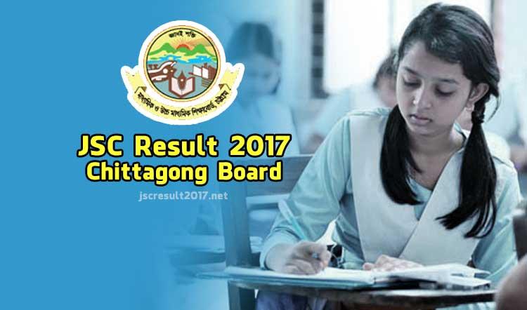 JSC Result 2017 Chittagong Board