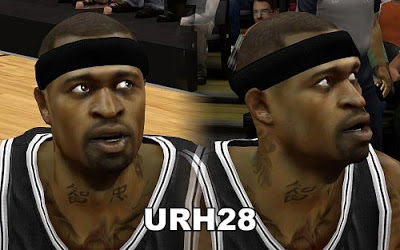 NBA 2K13 Stephen Jackson Cyberface Patch