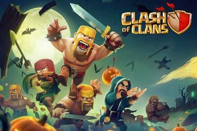 Clash Of Clans.