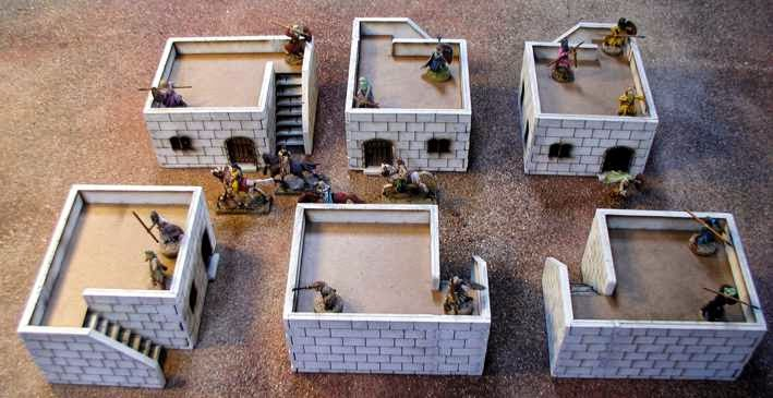 Tabletop Fix: Sally 4th - 28mm Middle East Buildings  Tabletop Fix: S...