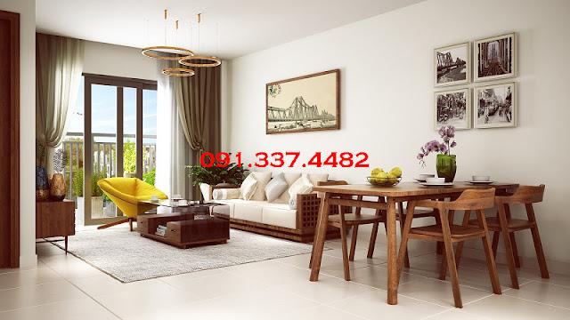 Thiết kế hoàn hảo tại chung cư Hope Residences Phúc Đồng
