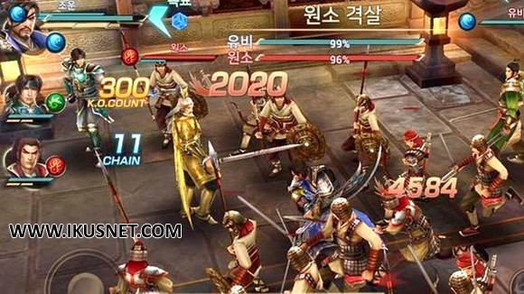 Dynasty Warriors Unleashed Apk v0.3.67.26 English Android Terbaru 2017 Free