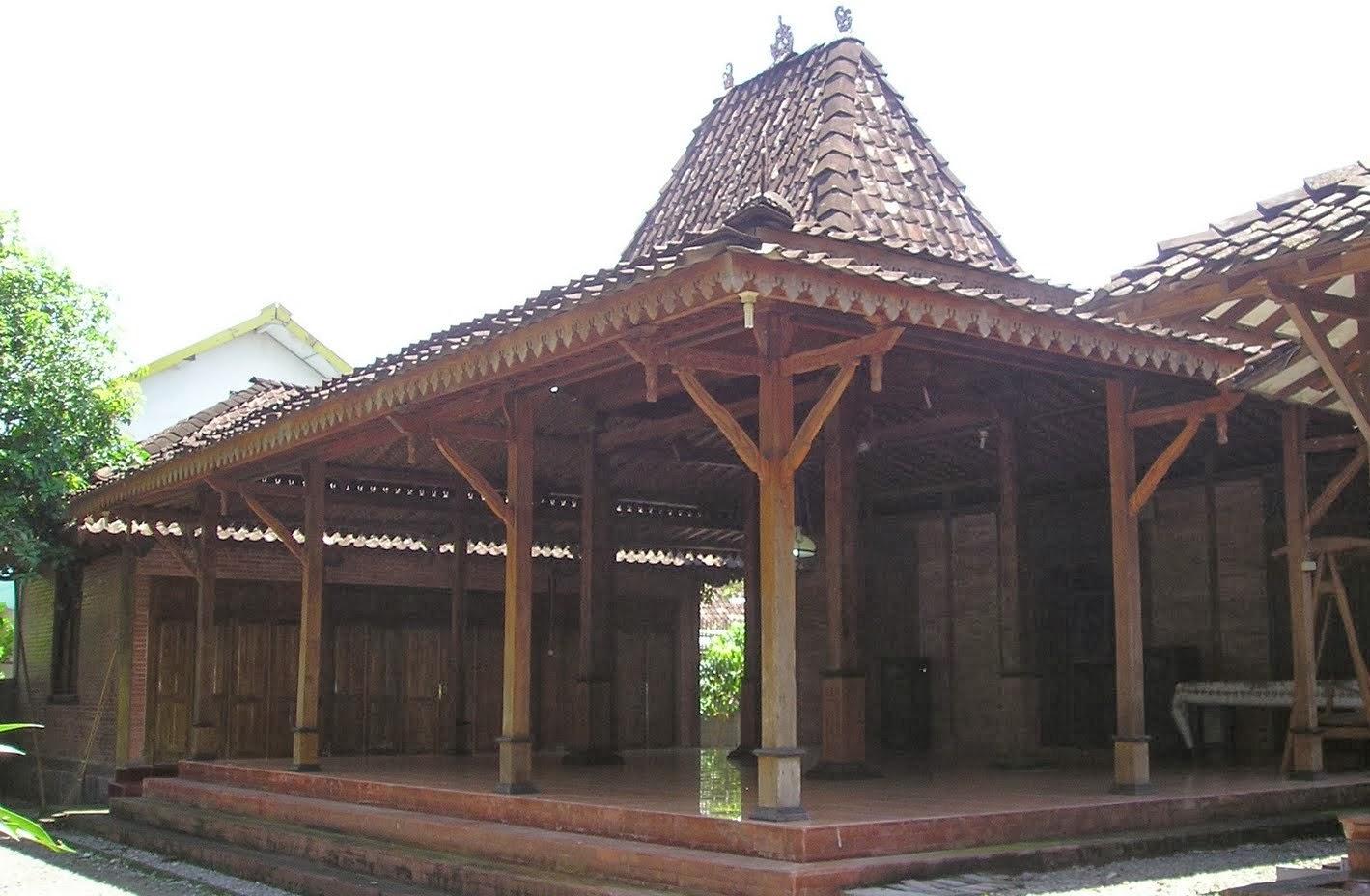 5 Rumah Jawa Klasik versi TR  Tampilan Rumah