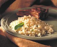 Ρύζι πιλάφι με φέτα και φρέσκο δυόσμο!