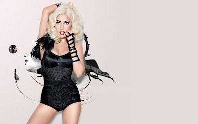 Lady Gaga Wallpaper Background Design