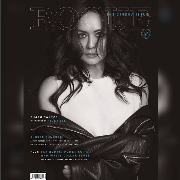 Charo Santos-Concio graces cover of Rogue magazine November issue