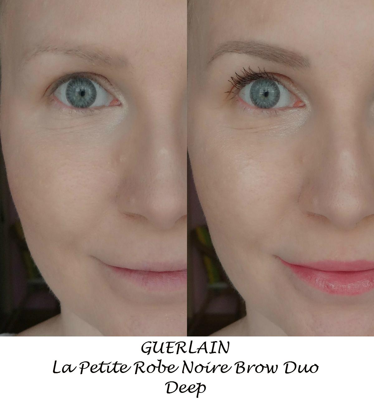 360fa9f3fe7 Guerlain La Petite Robe Noire Brow Duo występuje w dwóch wariantach  kolorystycznych - Light dla blondynek oraz Deep dla szatynek.