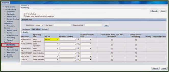 Oracle Applications Oracle R12 - AP Auto Invoice Creation - invoice creation