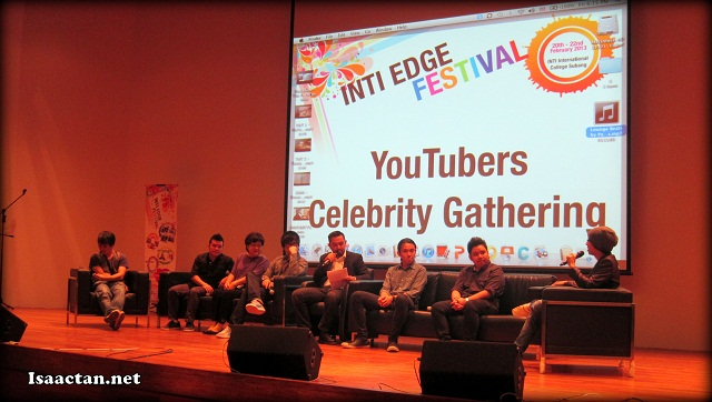 One of the events held at the INTI Edge Festival