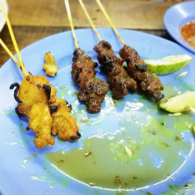 DINNER SATAY KG MELAYU SUBANG