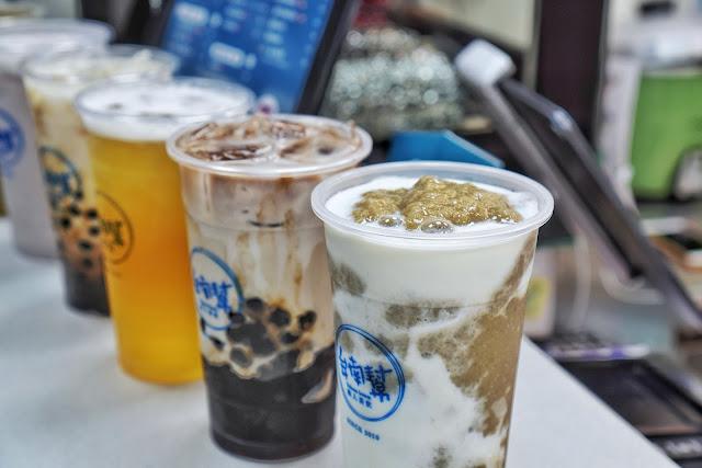 台南永康區美食【台南幫 中華店】綠豆沙牛奶