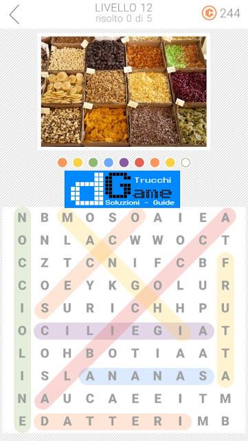 10x10 Crucipuzzle soluzione pacchetto 11 livelli (1-5)