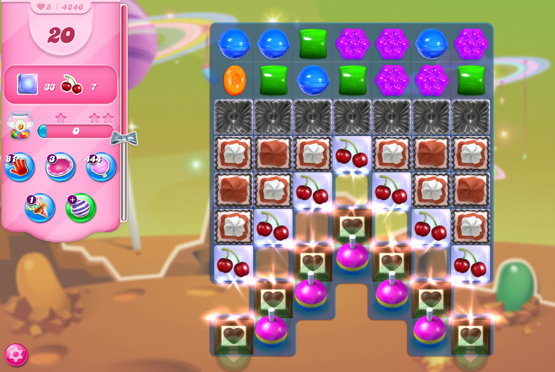 Candy Crush Saga level 4246