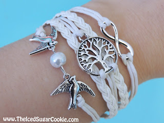 Tree Of Life Bracelets - The Iced Sugar Cookie - Jewelry, Earrings, Charms, Nail Polish