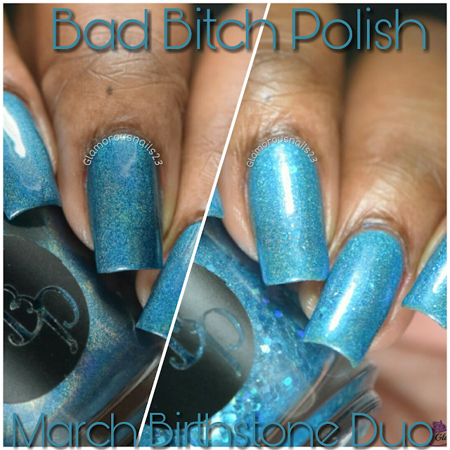 Bad Bitch Polish March Birthstone Duo