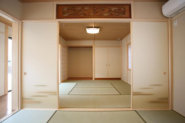 老後を夫婦二人で楽しむ住まいの開放的な二間続きの和室