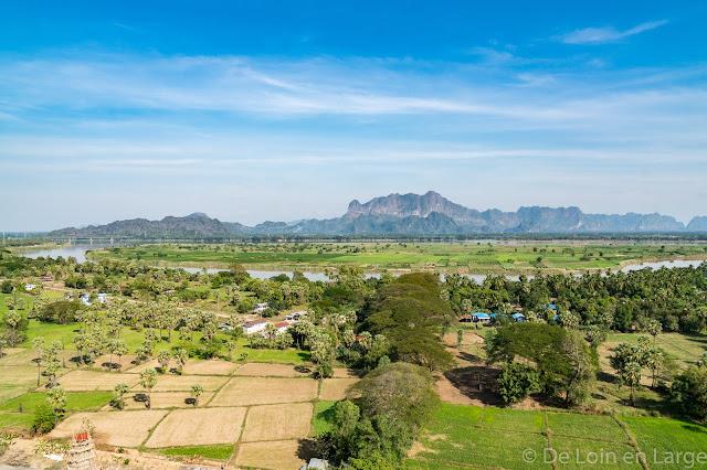 Grotte de Kaw Gone - Région de Hpa An - Myanmar Birmanie