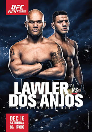 Poster Of UFC on Fox: Lawler vs. dos Anjos 13th December 2017 HDTV 480P 300MB