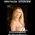 Anna Falchi (intervista): 'Sono partita con una valigia di sogni e desideri, con tanta energia'