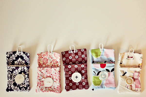 Small Sewing Patterns Pouches