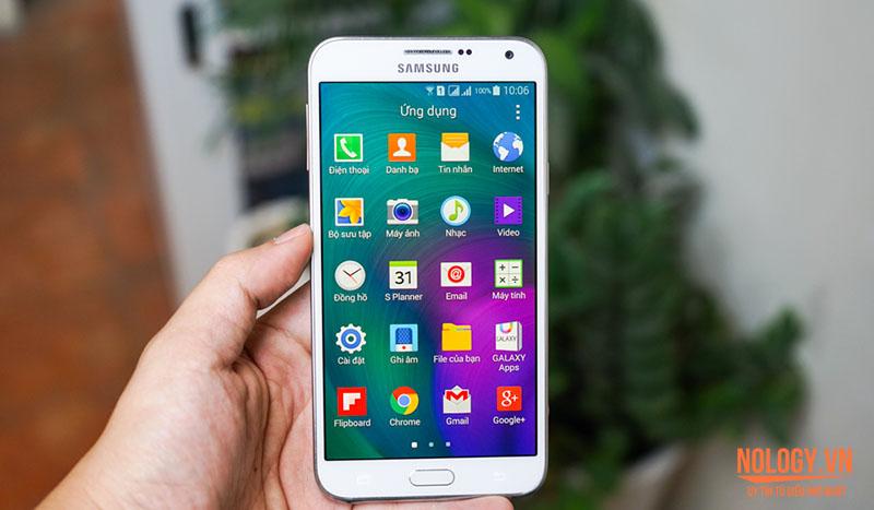 Samsung Galaxy E7 đánh giá chi tiết