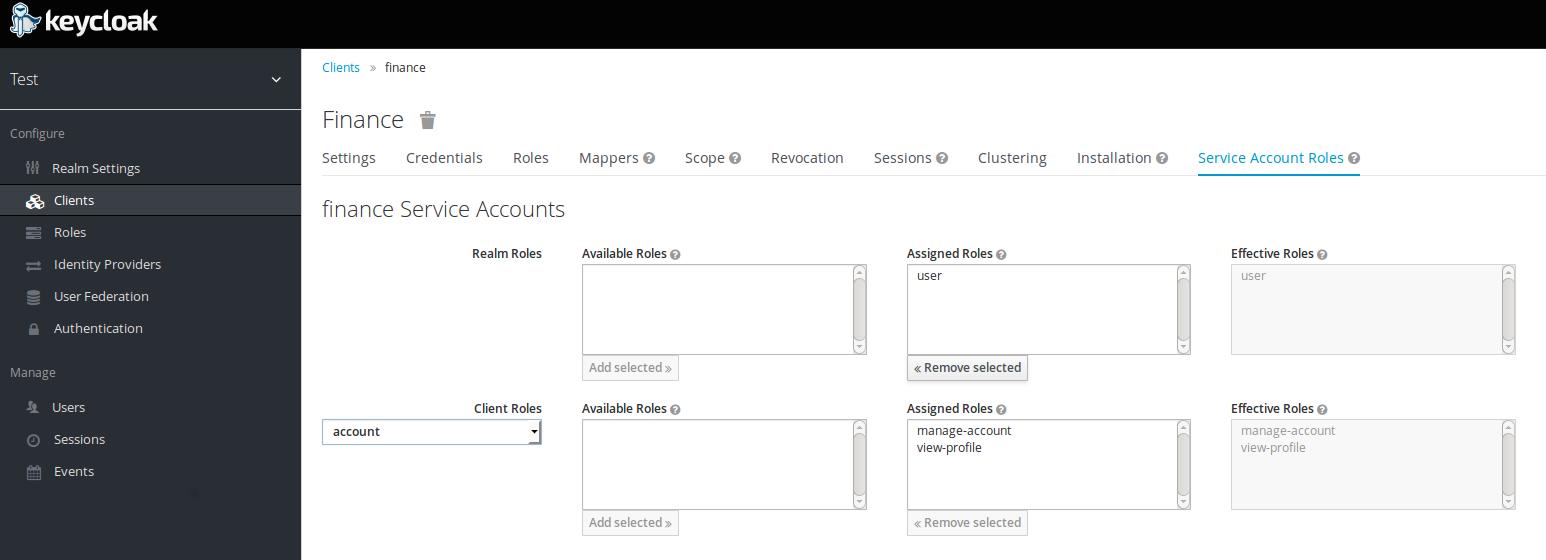 Service accounts support in Keycloak | Planet JBoss Developer