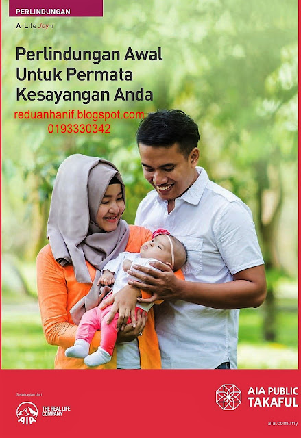Pelan Pendidikan Terbaik dengan benefit Baby Care dan Junior Critical Illness daripada AIA Public Takaful. Agen Terbaik 0193330342