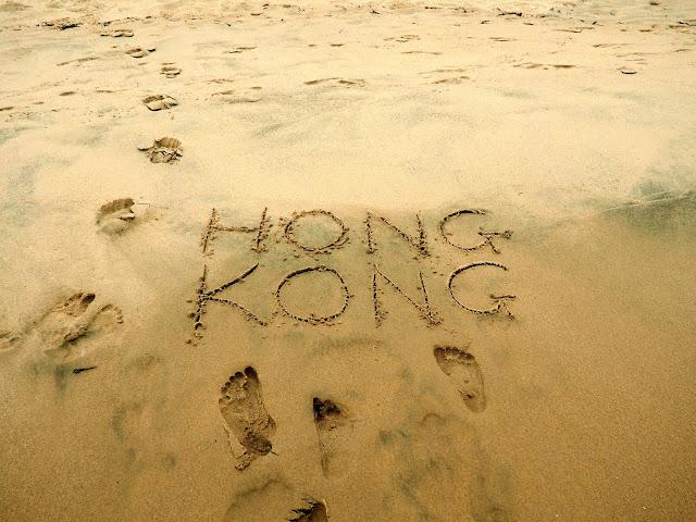 Cheung Sha Wan beach, Lantau Island, Hong Kong