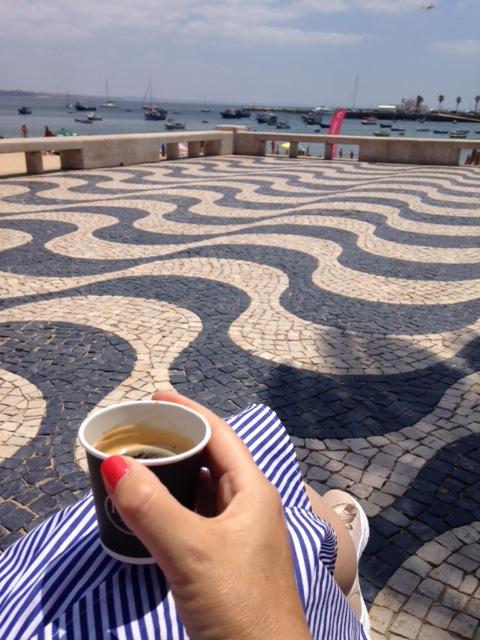 café na baía de cascais