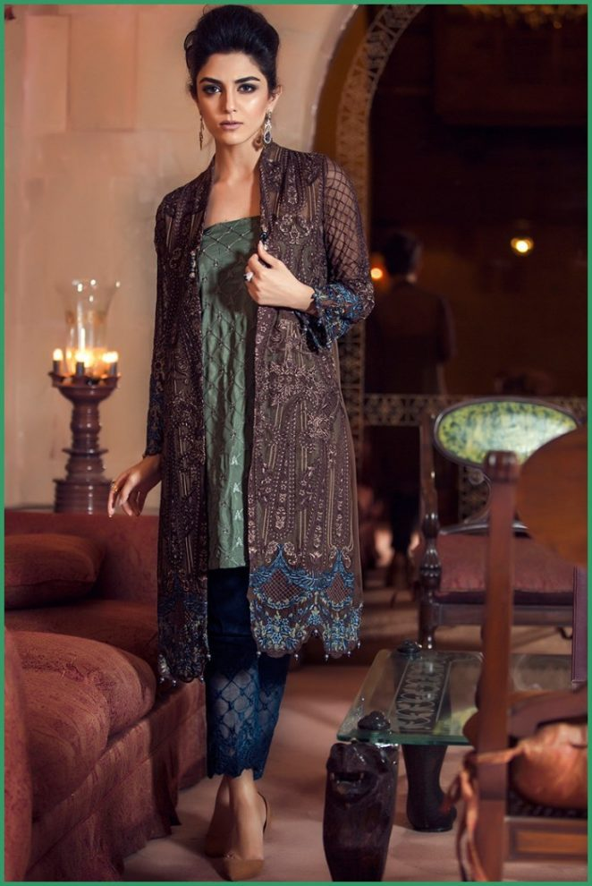 Maria B Eid Collection 2016 For Girls Evening Wear Guardians Clothes