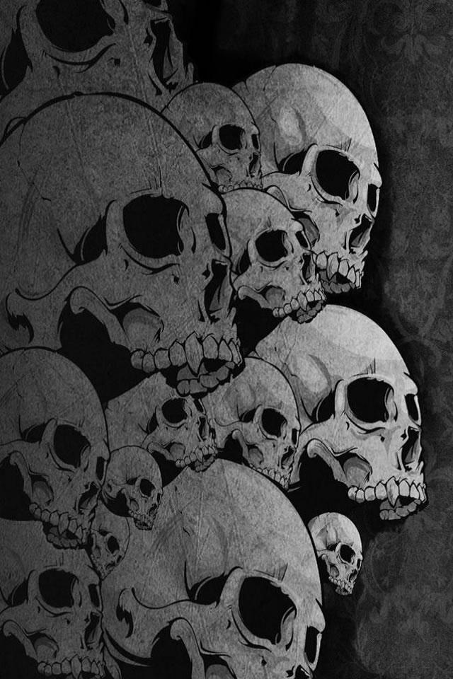 Cool iPhone Wallpapers: Cool Skulls