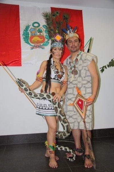 Tanzgruppe Raices Peruanas Wien: TRAJE TIPICO DE LORETO