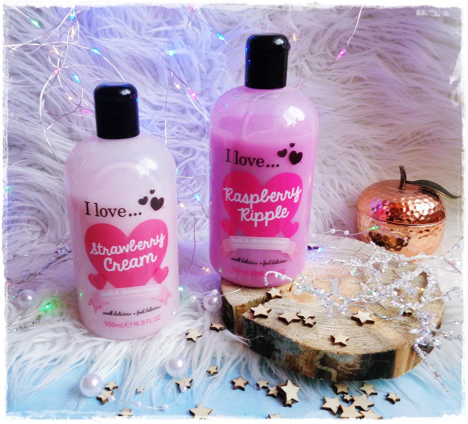 I love... Cosmetic - Pachnąco, Kolorowo i Radośnie Nawet Zimą!