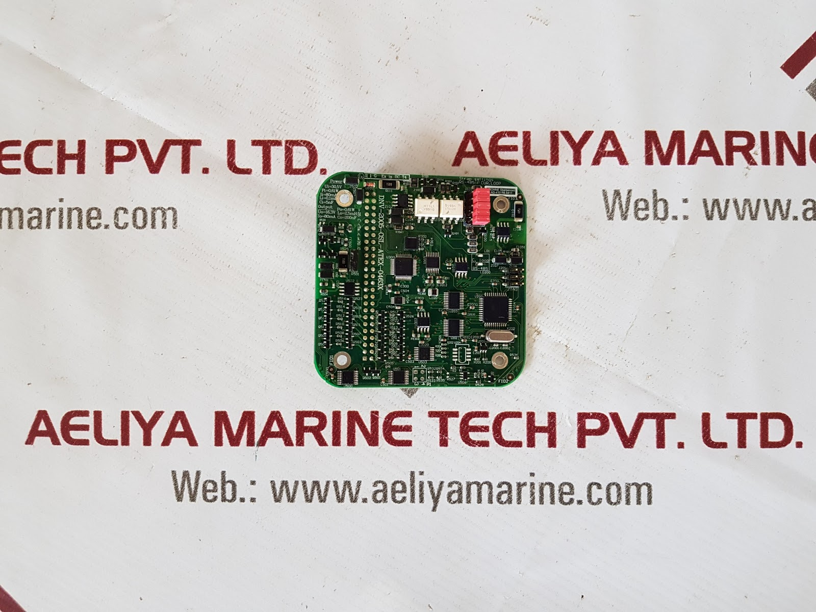 DNV-2005-OSL-ATEX-0463X AD410 REV 6 CARD | AELIYA MARINE