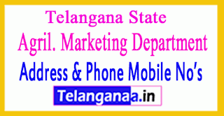 Telangana Agril. Marketing Department Officers Mobile No