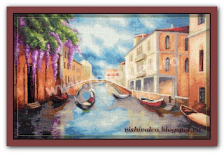 "Download embroidery scheme Rogoblen 6.61 ""Springtime in Venice"""