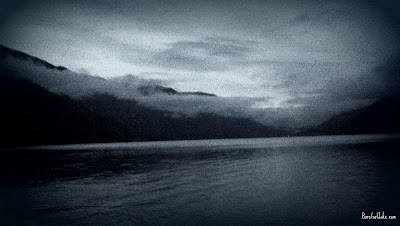 lake crescent twilight