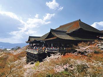 Salah satu keindahan di Kyoto, Jepang