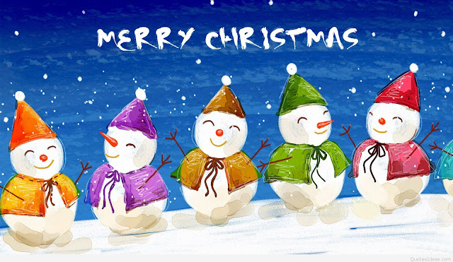 funny snowman merry xmas wishes image