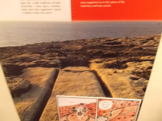 Cart Ruts information in National Museum Archaeology Malta