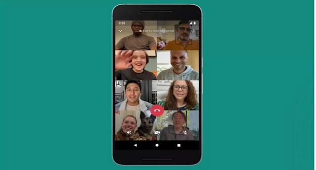 تحديث جديد من  WhatsApp يسمح بمكالمات الفيديو  لـ 8 أشخاص في وقت واحد