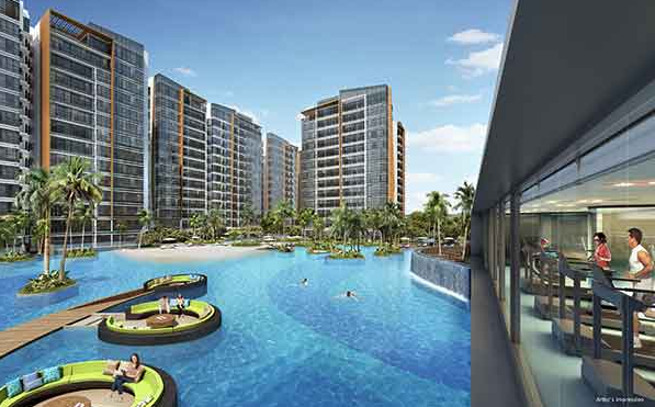 Coco Palms @ Pasir Ris Pool