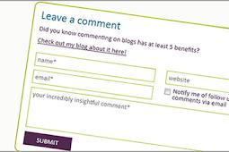 Manfaat mengomentari blog