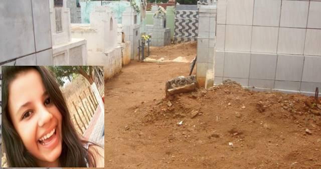 garota desenterrada de cemitério