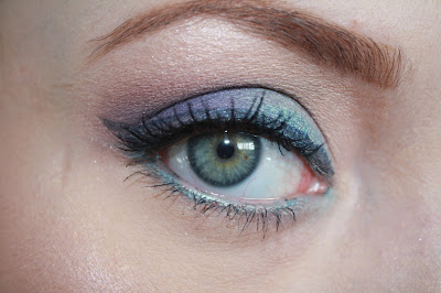 make up geek mermaid twilight duchess swatch