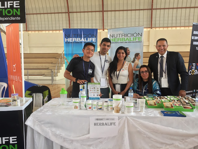 Herbalife estuvo presente en la Feria de Emprendimiento