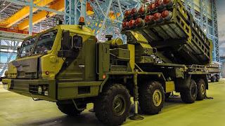 Rudal Pertahanan Udara Rusia S-350 Vityaz